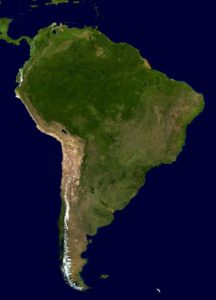 geography quiz on south america